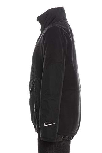 Nike Sudadera Air de niño, color negro Negro XL