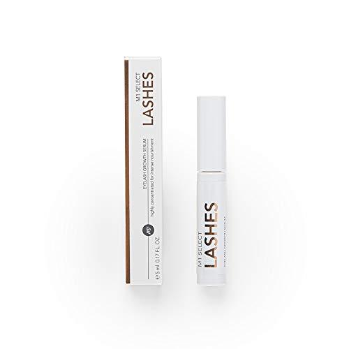 M1 SELECT LASHES 5 ml - Wimpernserum für lange & voluminöse Wimpern, gesundes & schnelles Wachstum