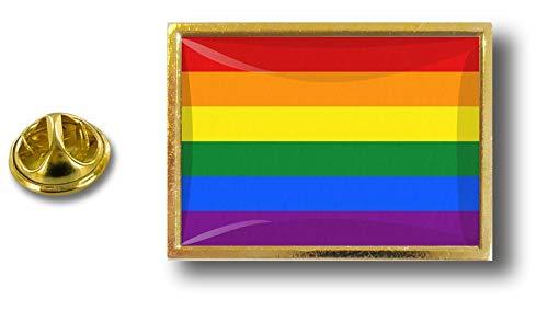 Akacha pin flaggenpin flaggen Button pins anstecker Anstecknadel Rainbow Regenbogen