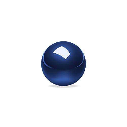 ぺリックス PERIPRO-303 DB 34 mm 【全10色展開】 交換用 トラックボール Perixx PM-517 717交換用ボール ロジクール/エレコム トラックボールマウスと互換性有り 光沢仕上げ スピード型 ボール 【正規保証品】(ブルー)