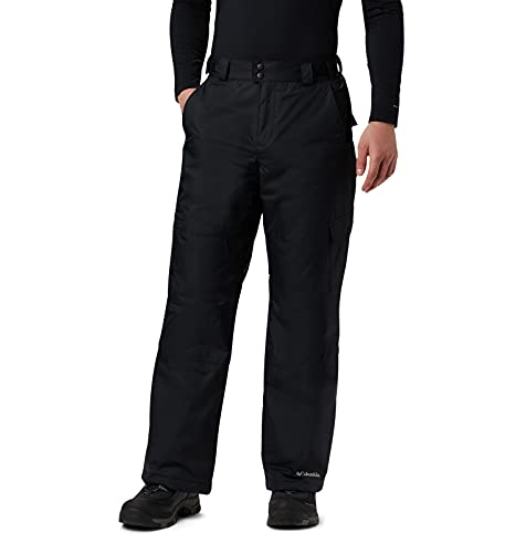Columbia Men's Standard Snow Gun Pant, Black, Medium