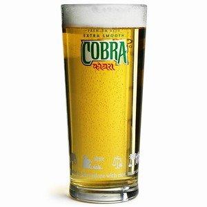 Cobra Bicchieri da pinta per birra, prodotto originale, ufficiale e autentico, 568 ml, 180 cm di altezza, 4 pz
