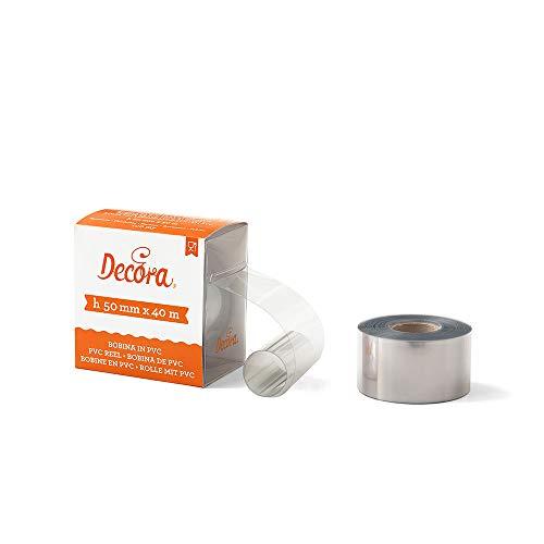 Decora 0160756 Bobina PVC per Alimenti, 50x40 mm, , 1 pezzo