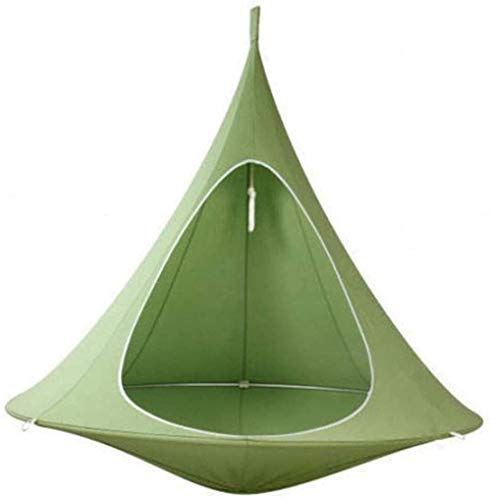 MEETGG General Kids Pod Swing Chair Child Hammock Waterproof Hanging Chair for Indoor Outdoor Use