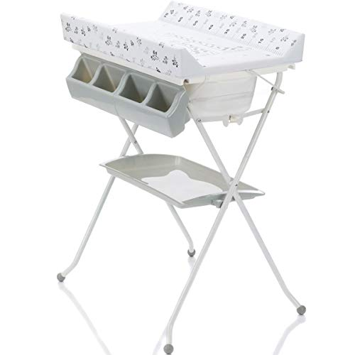 Table à langer 2 en 1 avec baignoire KOMBI (pliable)
