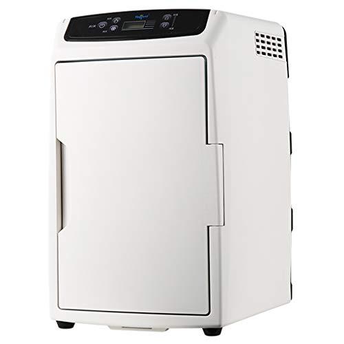 Roscloud Refrigerador De Gran Capacidad para AutomóViles 12l Mini Dormitorio PequeñO Refrigerador PequeñO Refrigerador Caja Caliente Dos Personas Mundo De Coches En Casa Doble Uso