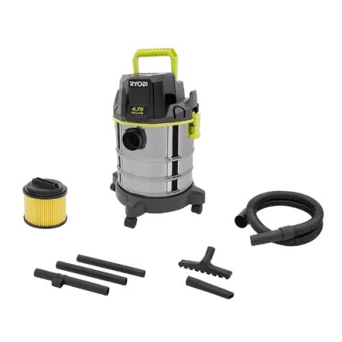RYOBI 18V ONE+ Cordless 4.75 Gallon Wet/Dry Vacuum