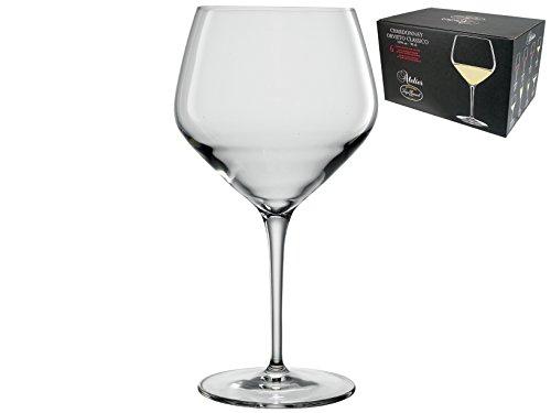 Bormioli Luigi Atelier Set Vap à Chardonnay, Verre Sonore, Transparent, 70 cl, 6 Pièces