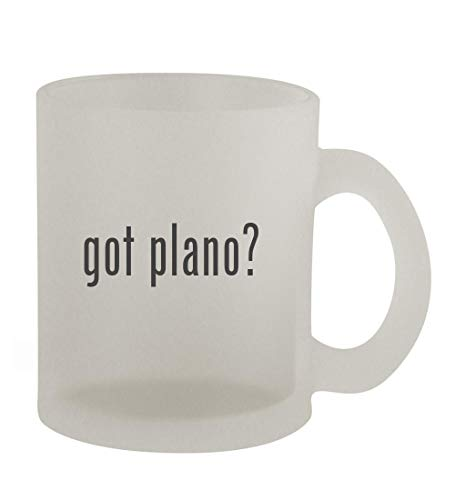 got plano? - 10oz Frosted Coffee Mug Cup, Frosted
