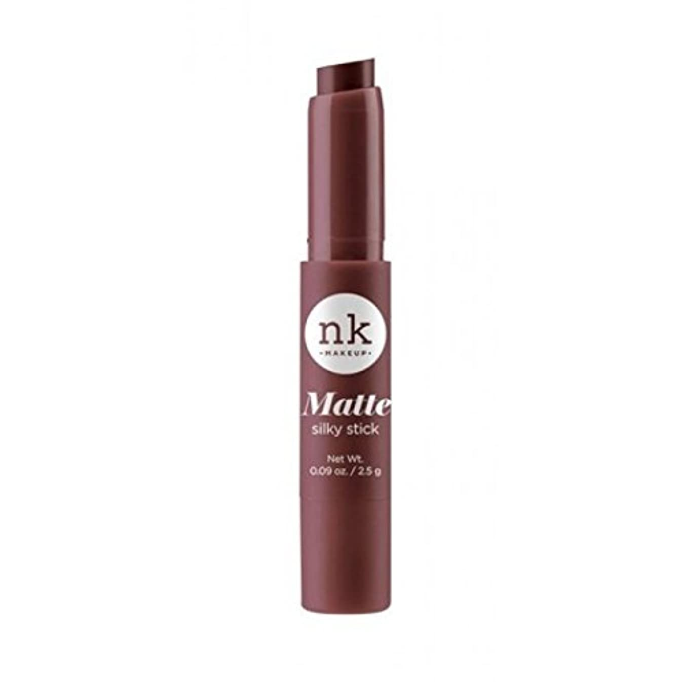 議題イタリックできない(3 Pack) NICKA K Silky Matte Stick - Cherrywood (並行輸入品)