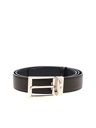 Montblanc - Cinturón - para hombre Azul Negro L