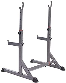 RSTJ Adjustable Weight Bench Barbell Stand Weight Lifting Rack Gym Family Fitness Fitness Barbell Stands Squat Rack,Multif...