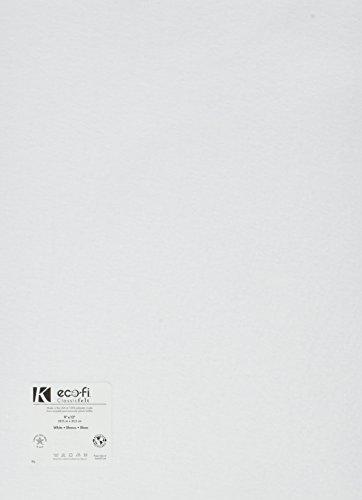 Kunin Rainbow Classic Filz, 23 x 30 cm, Weiß, 24 Stück