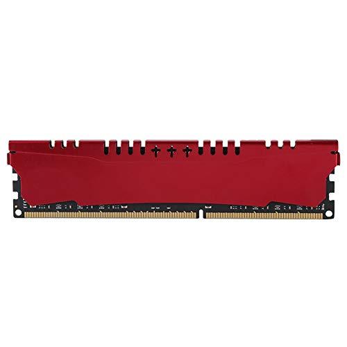 Diyeeni hoogwaardige geheugenmodule voor RAM voor Intel/AMD (4 GB, DDR3, 1600 MHz, 240 PIN), compatibel met uw computer digitale computer (rode kleur)