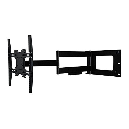 DQ Hercules Fixed 400 Supporto TV Nero - Consigliato TV-size: 24'-63' - VESA 75x75 100x100 200x100 200x200 300x300 400x200 400x300 400x400 mm - Girevole / Orientabile