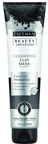 Freeman Beauty Infusion Mask Cleansing Clay 4 Ounce (Probiotic) (118ml)