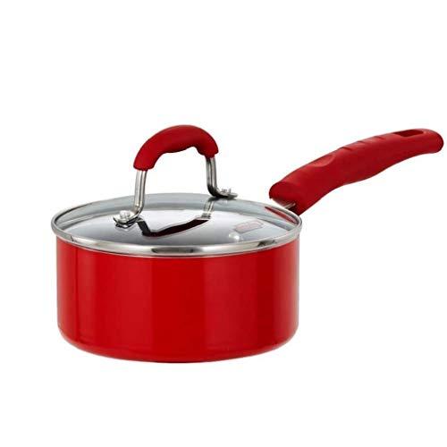 SHYPT Acero inoxidable palillo de la cacerola del wok y la tapa, sartenes Wok de inducción a permanecer fresco manijas, for hervir huevos Agua, Cocinar los tallarines