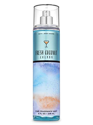 Bath and Body Works Fine Fragrance Mist - Choose Scent (Fresh Coconut Colada)