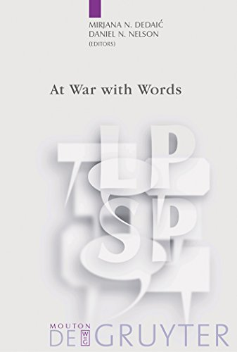 At War with Words (Language, Power and Social Process [LPSP] Book 10) (English Edition)