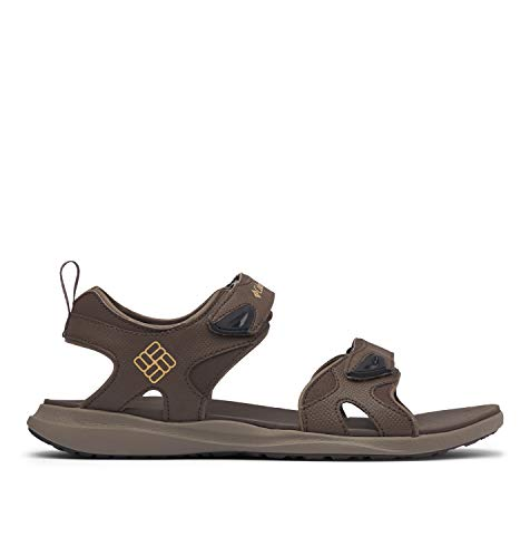 Columbia 2 Strap, Sandalia Hombre, Brown (Cordovan, Curry 231), 40 EU