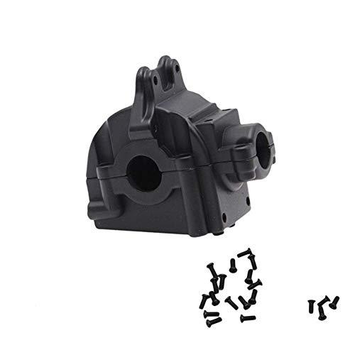 GzxLaY Carcasa de Caja de Cambios de Metal Nueva Carcasa diferencial para WLtoys 144001 1/14 Accesorios de Coche RC Piezas de Repuesto ( Color : Black )