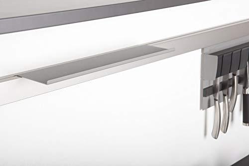 SO-TECH® Linero MosaiQ Obere Ablage 'M' 350x107x8 mm Titan grau