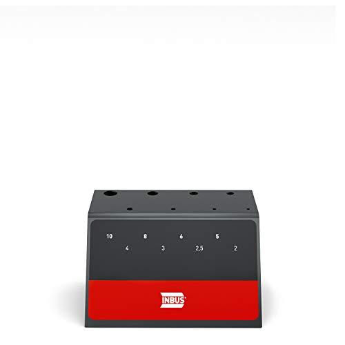 INBUS® 73854 Werkstattständer für 70129 T-Griff Inbusschlüssel Set 8tlg — Das Original