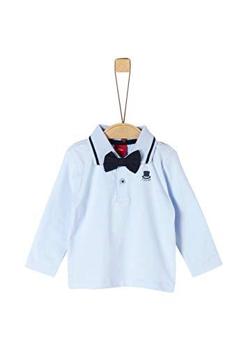 s.Oliver Baby-Jungen 59.911.35.3586 Poloshirt, Blau (Light Blue 5075), (Herstellergröße: 92)