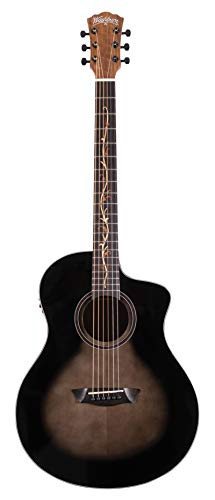 Washburn 6 String Acoustic-Electric Guitar, Right (BTS9VCECH-D)