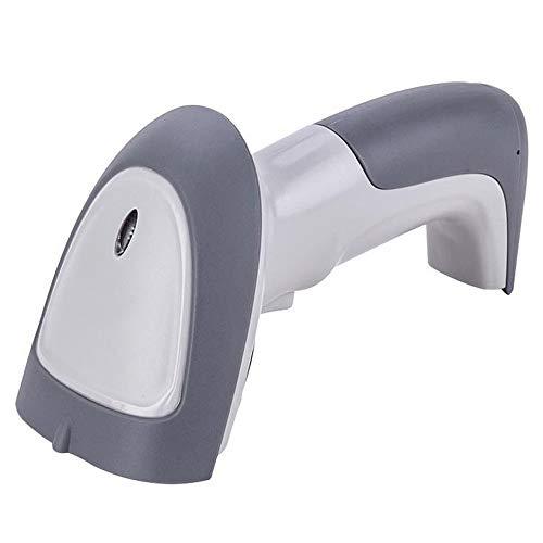 Keliour Scanner de Codes à Barres Wireless Scanner USB 32 Barcode Bits Un Code ABS Dimensional Scanner (Couleur : Gris, Taille : Taille Unique)