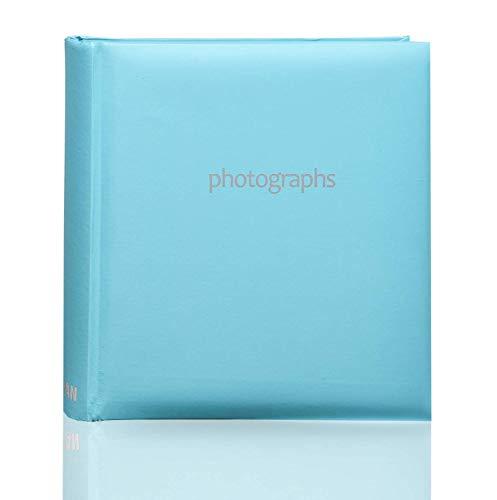 ARPAN - Álbum de Notas, Encuadernado, para 200 Fotos,10 x 15 cm, Azul Pastel, Album Size : 23 x 4.5 x 22.5 cm Approx