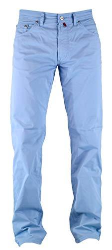 Pierre Cardin Deauville Regular Fit Tissu stretch léger - Bleu - 34 W/32 L