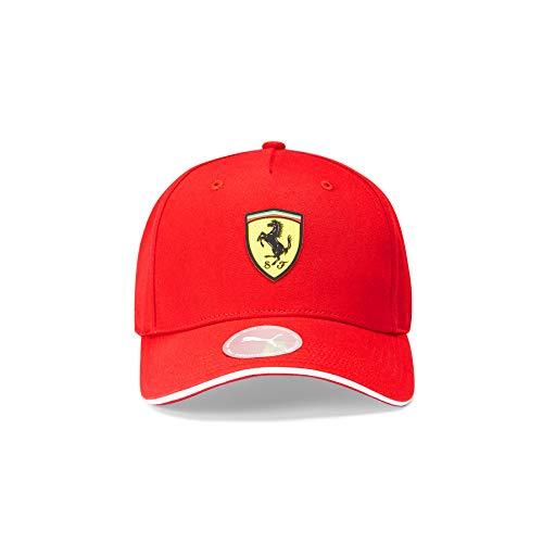 PUMA Ferrari - Offizielle Formel 1 Merchandise 2021 Kollektion - Damen und Herren - Classic Cap - Cap - Red - One Size