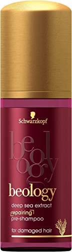 Schwarzkopf beology Repair-Pre-Shampoo, für geschädigtes Haar, mit Tiefsee-Extrakt, 3er Pack (3 x 50 ml)