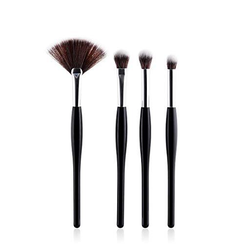 BERYLSHOP Ensemble de pinceaux de maquillage Outils Trousse de toilette de maquillage Nylon Cosmetic Brush Eye Brush 8 In 1 (Couleur : 4-Piece)