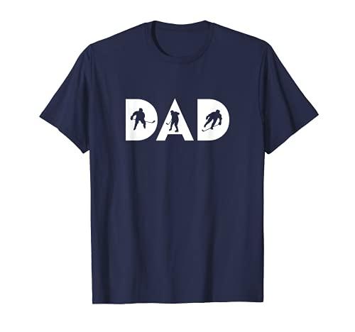 Hockey DAD–Eishockey-Shirt und Geschenk für Hockey Fans