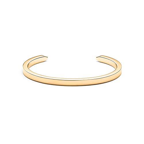 Womens Open Minimal Cuff Bracelet