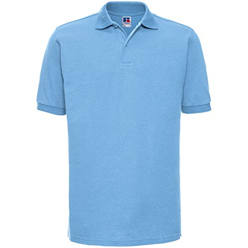 Russell - robustes Pique-Poloshirt - bis Gr. 6XL / Sky, XL XL,Sky