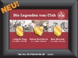 1. FCN: Nostalgie-Rahmen der ClubLegenden