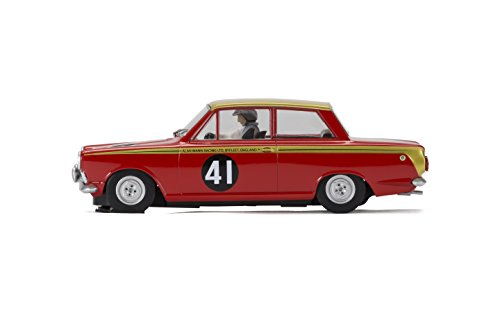 Scalextric 3870 1:32 Ford Cortina #41 Alan Mann Rac. HD