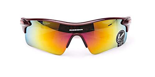 Posma SGB080 - Gafas de sol polarizadas para hombre, anti-UV400 para conducir, pesca, globo, béisbol, correr, senderismo, 1 unidad
