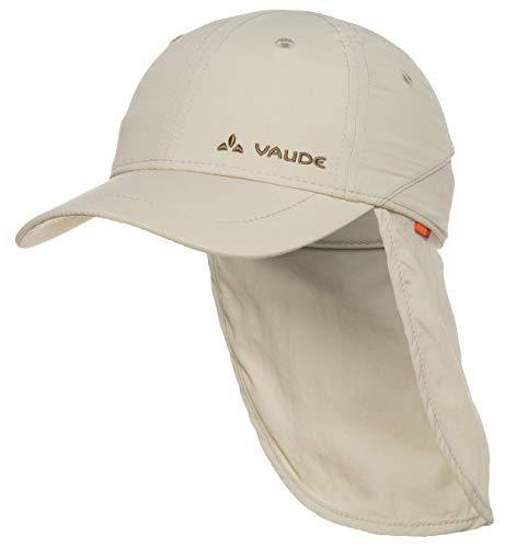 VAUDE Kinder Mütze Sahara Cap III, Offwhite, L, 03136