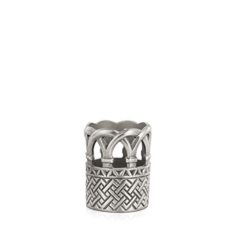 Royal Selangor Hand Finished The British Museum Collection Pewter Lewis Votive Candle Holder Gift