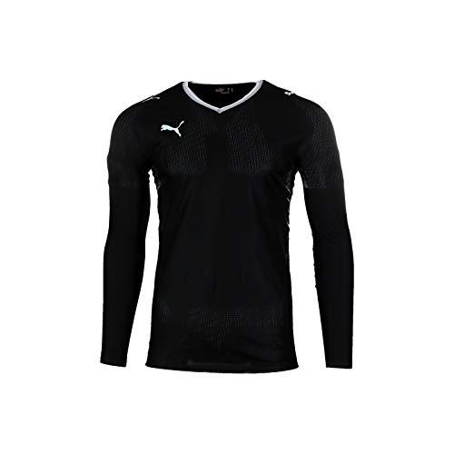 PUMA V1.08 Langarm Shirt Schwarz L