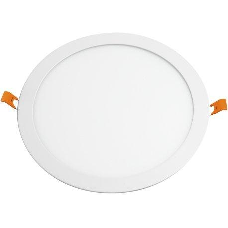 Alverlamp DL30PL40 - Downlight LED 30W 4000K empotrable redondo blanco Osram