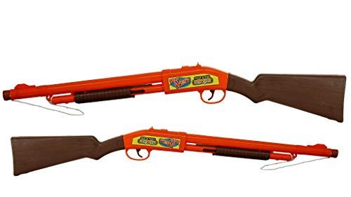 "JA-RU Wild West Pop Toy Replica for Kids (2 Pack) Big Sound & Pump Action 20"" Long. Cowboy Toys for Boys. Party Favor Toys. 4763-2p"