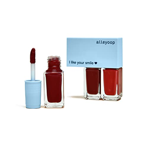 Alleyoop Multi-Mood Lip Trio - 3 Full-Size Lip Products in One - Lip Gloss, Cream Lipstick & Matte Lipstick - Formulated with Shea Butter for Smooth, Soft Lips - Red and Done