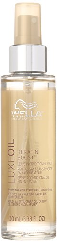 Wella Luxeoil Keratin Boost Leave In Conditioning Spray, 3.38 Ounce