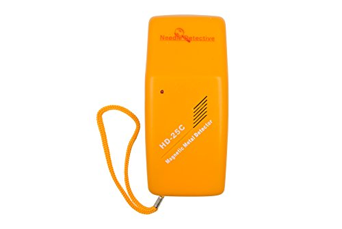 Needle Detective Handheld Needle Detector - Magnetic Needle, Staple, and Small Metal Object Detector, Mixed Metal Detector Multi Testers