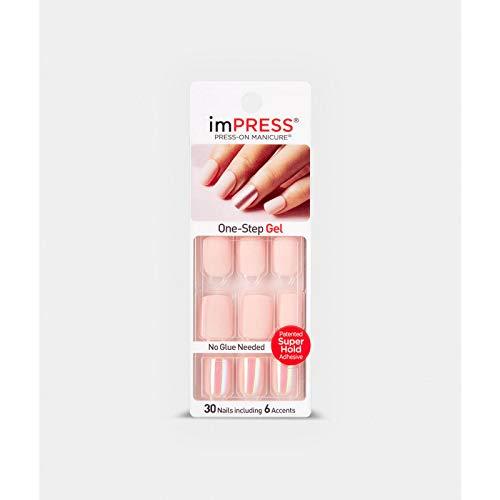 KISS imPRESS Nails Products So So Stellar False Nail, 30 Count- BIP011